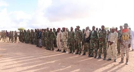 Somaliland oo soo bandhigtay Ciidamo ka goostay Puntland