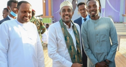 PM makes promises to Somali youth on the occasion of SYL