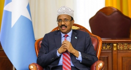 Somalia's outgoing president accused of war crimes