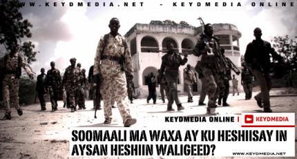 Soomaali Ma Waxa Ay Ku Heshiisay In Aysan Waligeed Heshiin?
