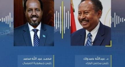 Dowladda Sudan oo isku qaladay Farmaajo iyo Xasan Sheekh