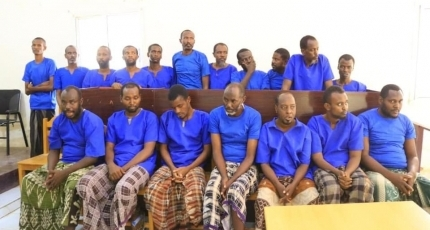Puntland publicly executes 21 Al-Shabaab operatives