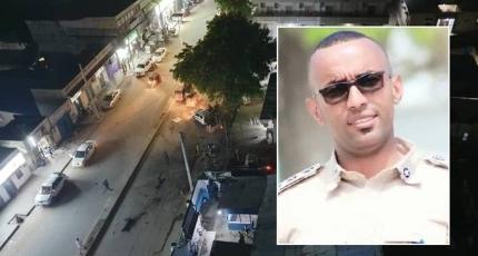 Suicide bomber strikes police station in Somali capital