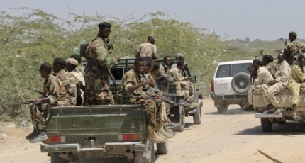Somali troops carry out anti-al-Shabaab operations