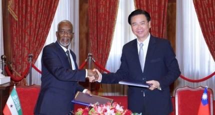 Somaliland iyo Taiwan oo shaaciyay xiriirkooda cusub