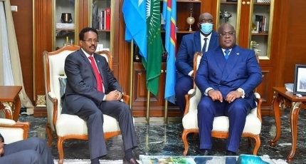 Farmajo seeks support for his term extension from AU