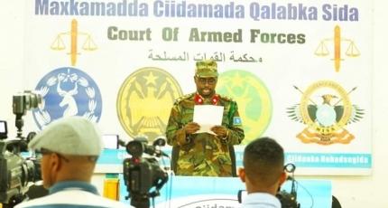 Somali military court sentences six to jail for DC murder