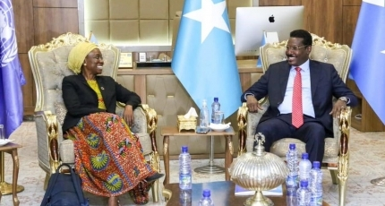 UN official visits Galmudug amid slow in Somalia's election process
