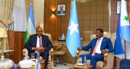 Puntland leader apologizes to his Galmudug counterpart