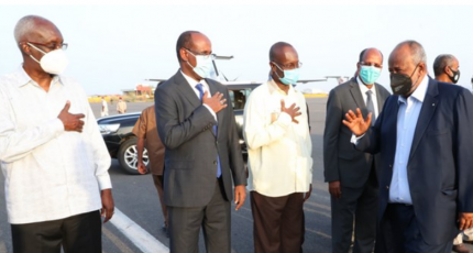 Djibouti president returns home after hospitalisation rumours