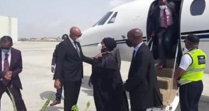 Kenyan foreign minister arrives on maiden visit to Somalia