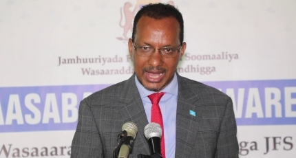 Somalia's defense minister speaks about ongoing army Ops