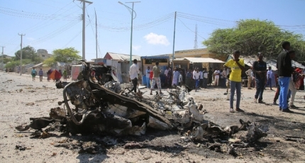 Blasts, gunfire in Somalia kill four and wound others