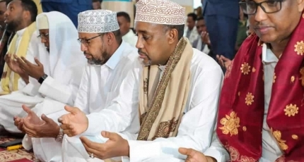 Somali PM, top regional officials mark Eid al-Fitr