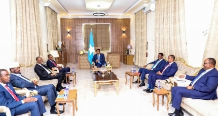 Somali leaders convene in central town for election talks