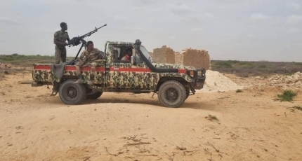 Al-Shabaab militants killed in a ground and air offensive