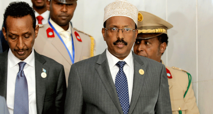 Outgoing Somali president hires US lobby firm for US visit