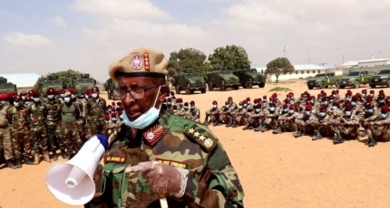 Questions raised over who is in control of the Somali Special forces