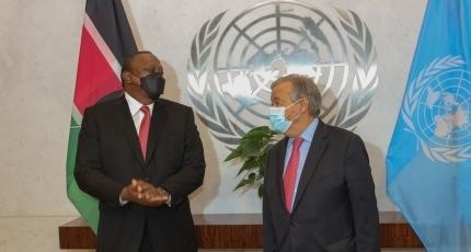Uhuru Kenyatta oo maanta shir guddoominaya Golaha Ammaanka