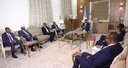 Somali political leaders hold electoral talks after Int'l pressure