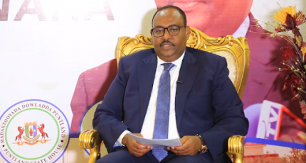 Puntland leader arrives in Mogadishu with security team