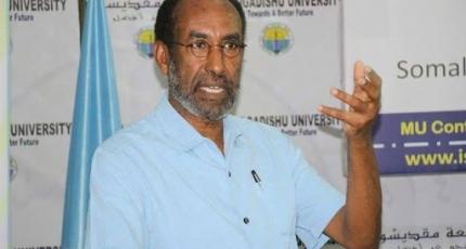 Prof: Samatar: Doorashada dalka waxey u horseedi kartaa dagaal