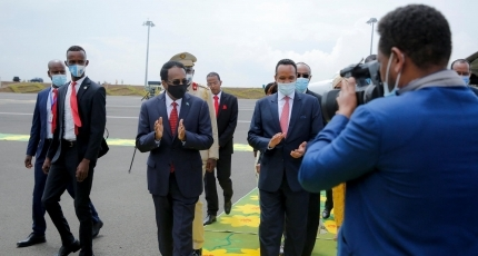 Farmajo on last trip to Ethiopia to say goodbye to Abiy Ahmed