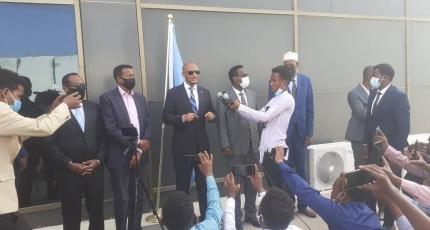 Somalia sends delegation to ICJ for maritime case