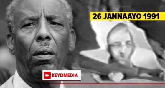 26 Jannaayo 1991: Maalintii labaad ee gobannimiada Soomaaliya