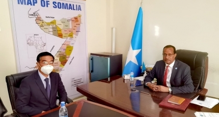 China to provide assistance to Somalia in SNA rebuilding