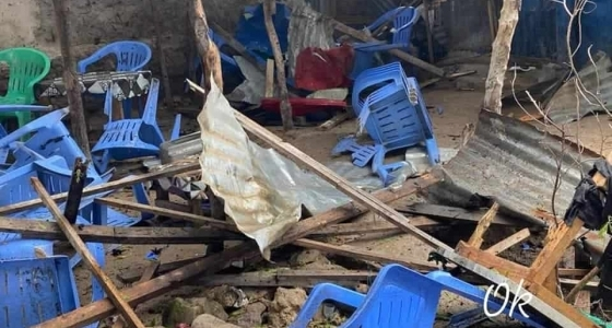 At least 11 die in suicide bombing at Mogadishu tea shop