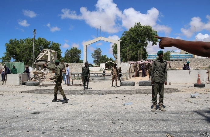 Somalia's power-hungry president has taken his country to the brink