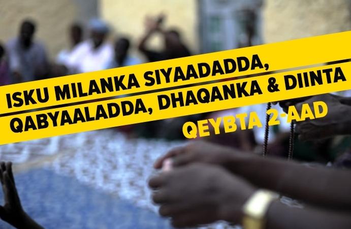 Isku Milanka Siyaadadda, Qabyaaladda, Dhaqanka & Diinta - Qeybta Labaad