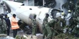 Nairobi: Diyaarad Qaad u siday Soomaaliya oo 'burburtay'